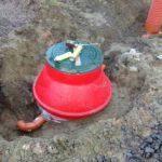 Монтаж локального очистного сооружения в поселке Малиновка