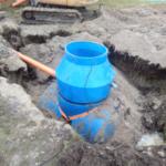 Монтаж локального очистного сооружения в г. Гурьевск